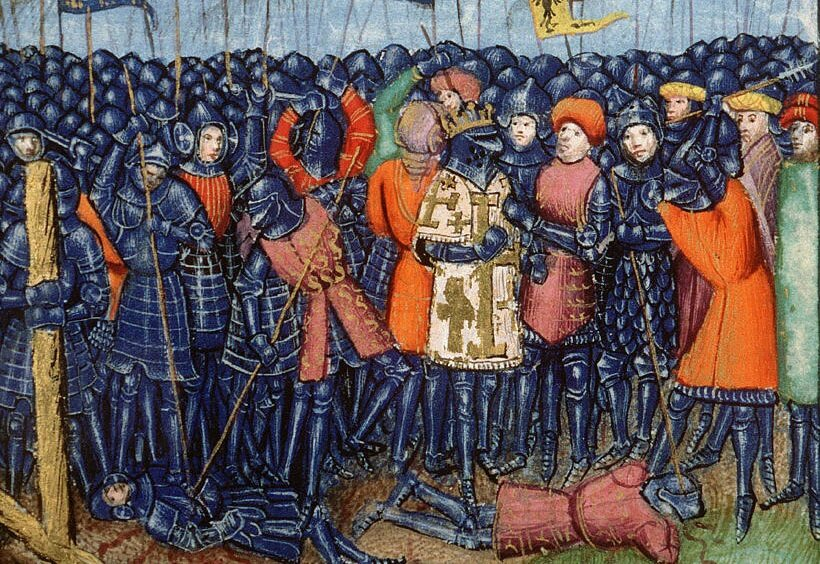 Bitwa pod Hittin na  XV-wiecznej miniaturze