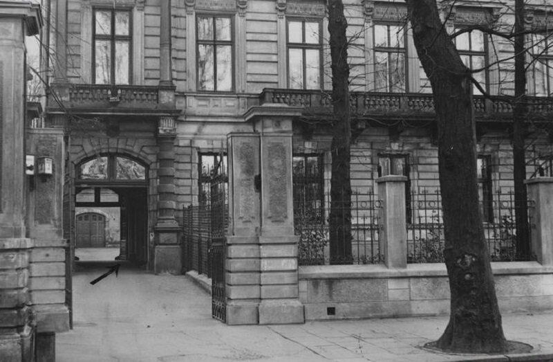 Miejsce zamachu na ministra Pierackiego - Klub Towarzyski przy ul. Foksal 3 w Warszawie